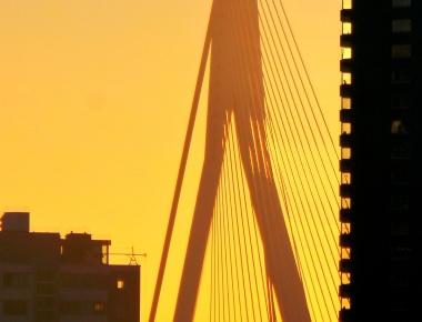 citytrip, Rotterdam, Parkhotel, Skyline